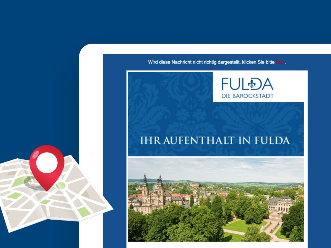 Referenzprojekt Tourismus Fulda: E-Mail-Marketing – ADDVALUE