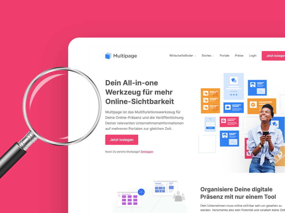 Referenzprojekt Multipage: Website – ADDVALUE